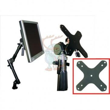 VESA 75/100-Adapter Platte für Halter der Serien A-100, A-350 und DO-J