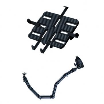 DO-WQ Halter für Montage an der Windschutzscheibe für Tablet und Kamera