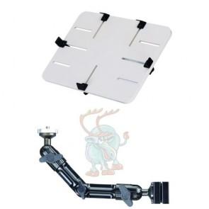 DO-HPw KFZ-Halter zur Befestigung an der Kopfstütze für Tablet und Kamera