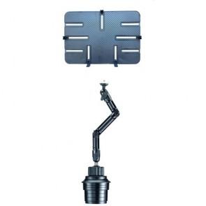 DO-UP KFZ-Halter zur Befestigung im Becherhalter für Tablet und Kamera